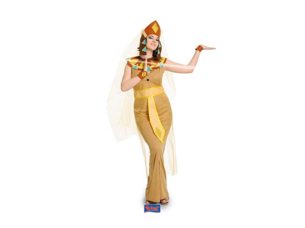 Kostým egyptská žena - kleopatra vel. L/XL (40-42)