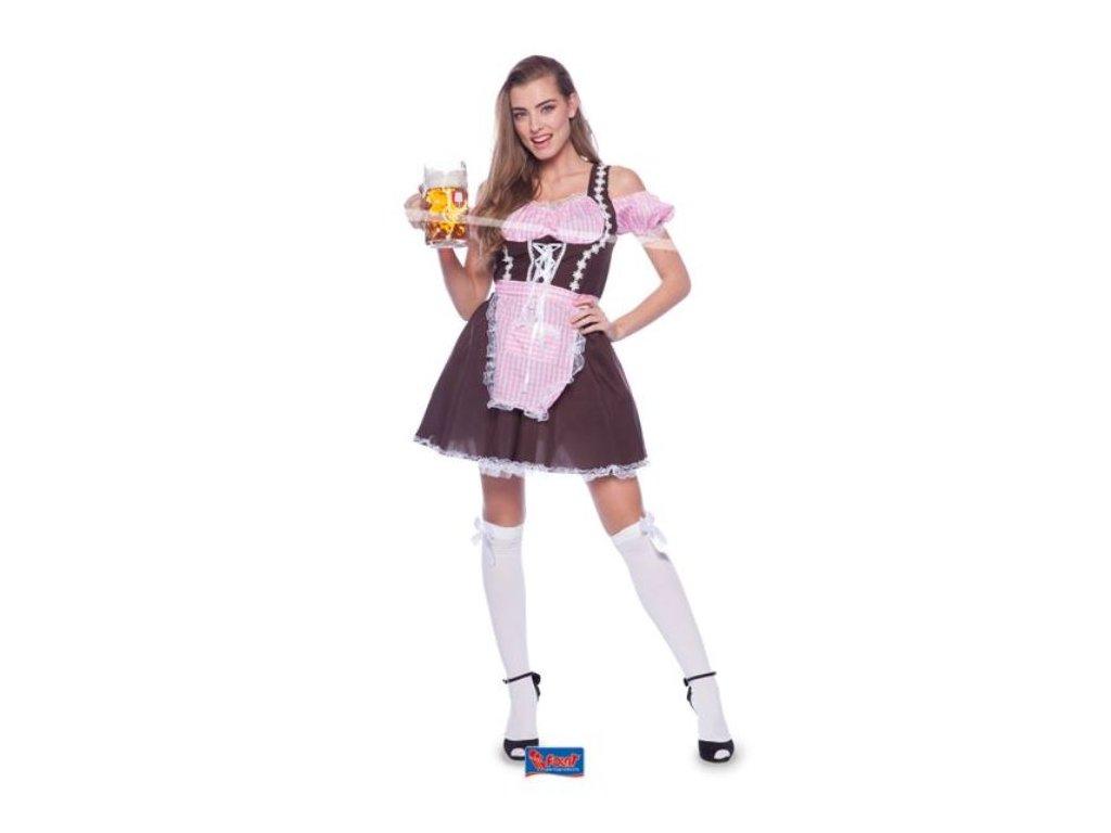 Oktoberfest kostým bavoračka vel.S/M (36-38)