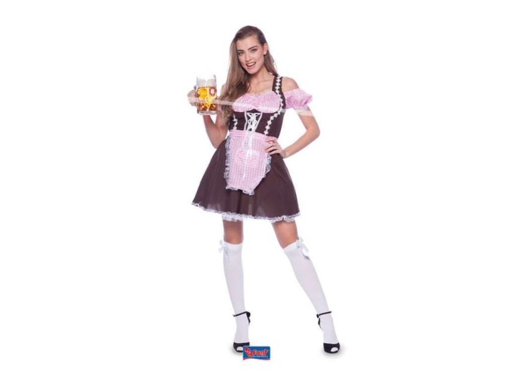 Oktoberfest kostým bavoračka vel.L/XL (40-42)