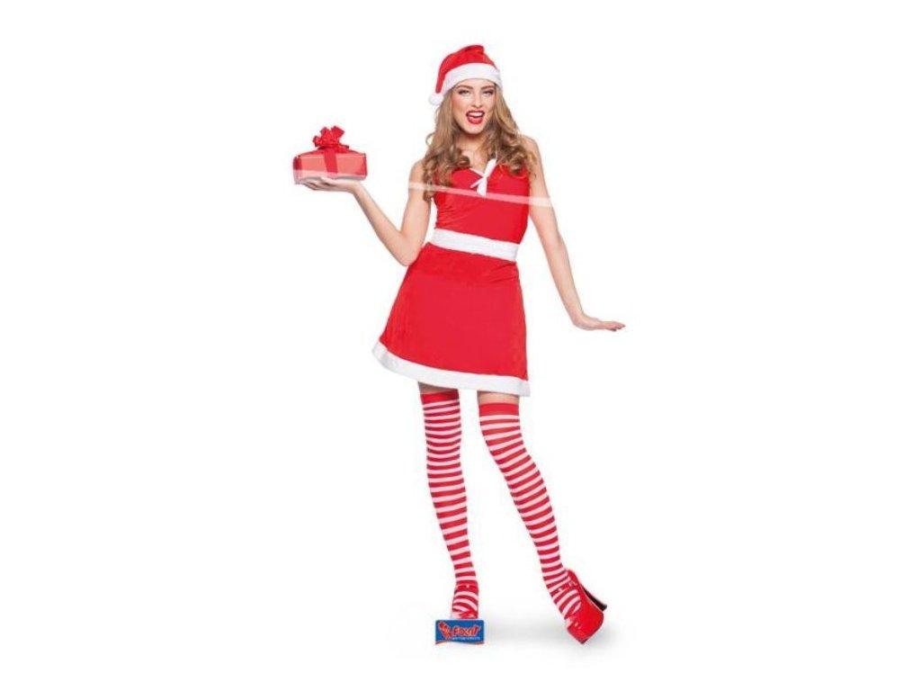 Kostým paní Santová vel. L/XL (40-42) - Santa Claus
