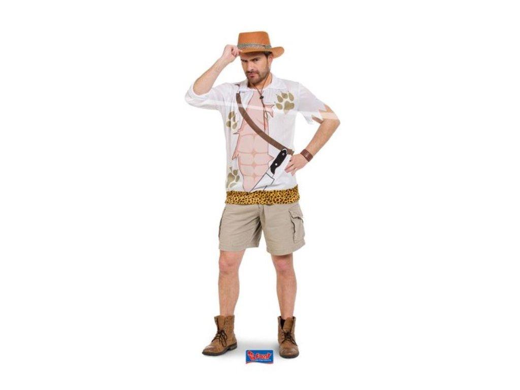 Kostým Safari muž vel. M/L (46-50)