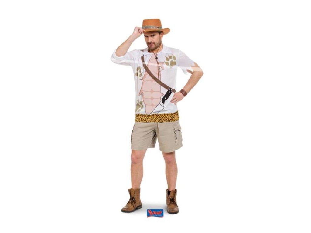 Kostým Safari muž vel. XL/XXL (52-56)
