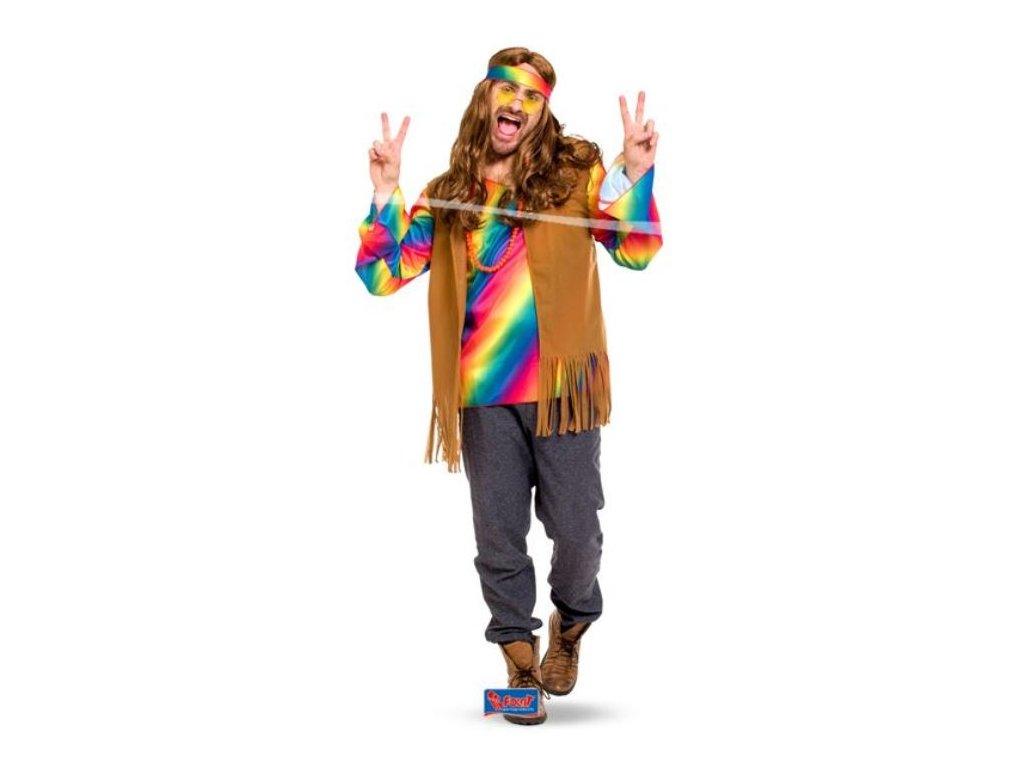 Kostým Hipisák, XL/XXL (52-56) - Hippies