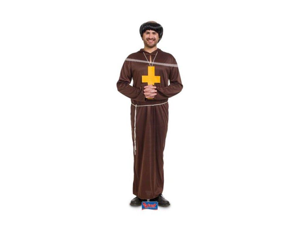 Kostým mnich - kněz , unisex
