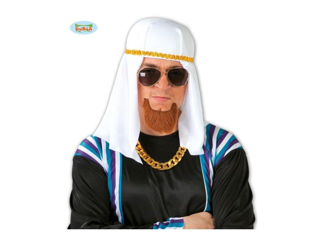 Klobouk arabský - Šejk - Sheik Abdullah