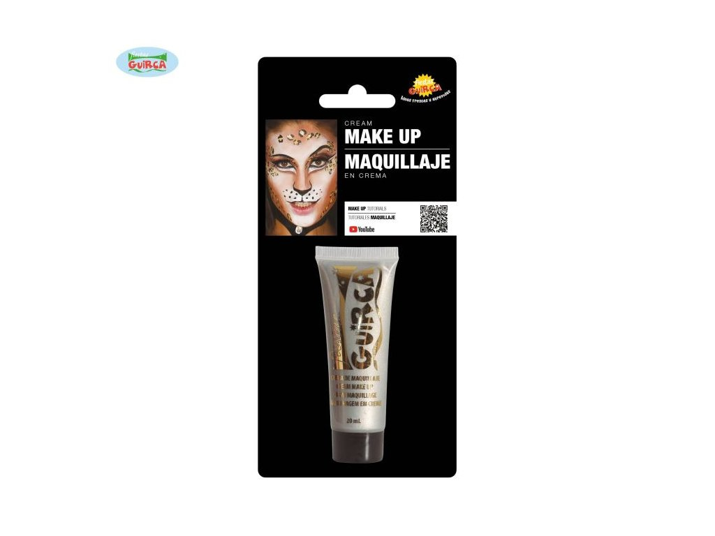 Stříbrný make-up v tubě - HALLOWEEN - 20 ml