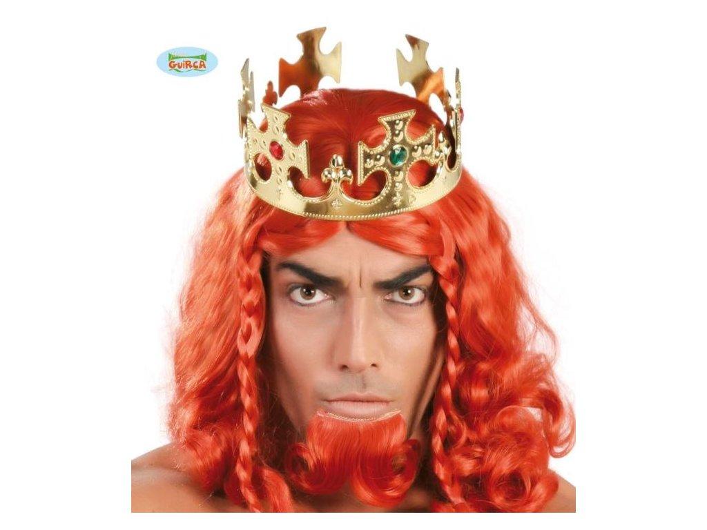 Zlatá královská koruna 60 cm