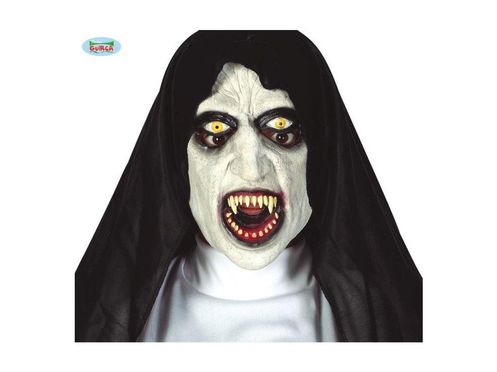 Maska sestra - jeptiška - HALLOWEEN - 19 x 17 x 50 cm