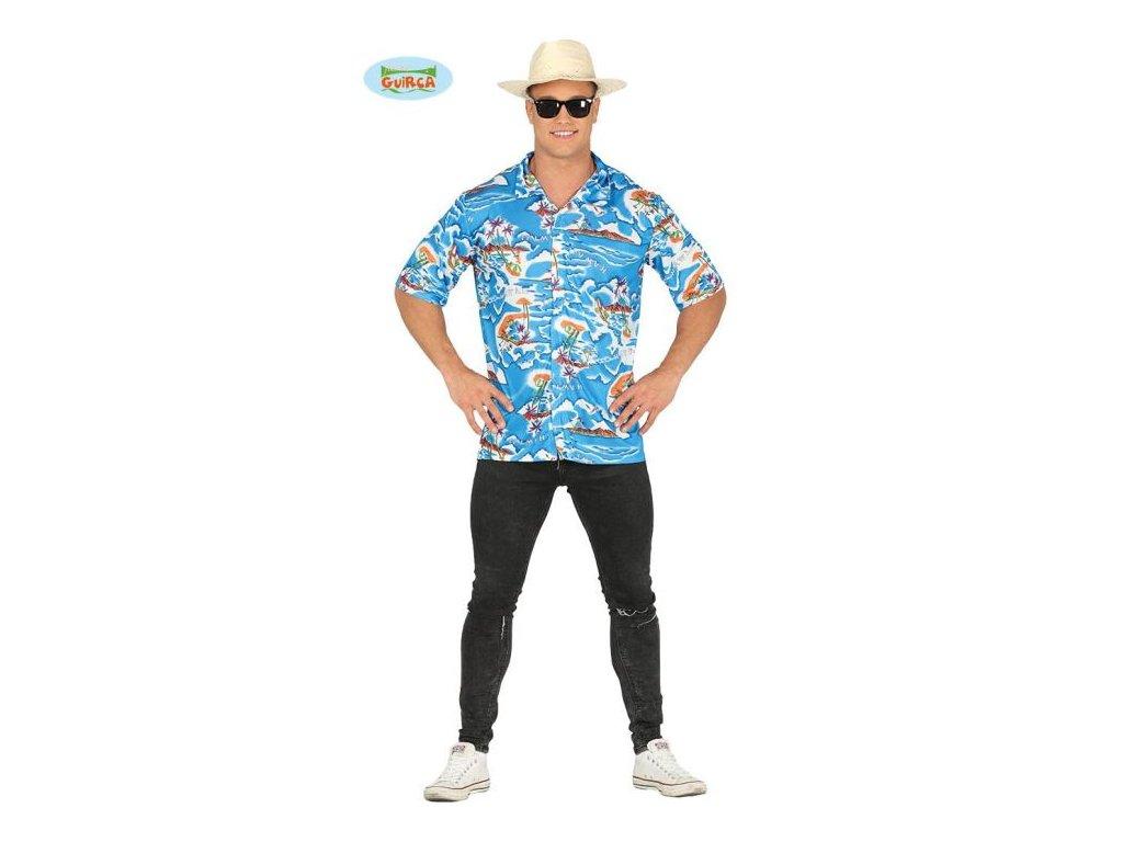 Kostým - košile Havaj - Hawaii - vel. L (52-54)