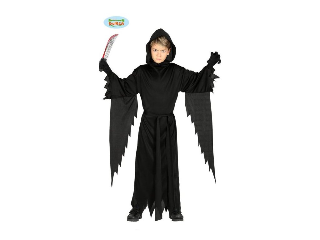 Dětský kostým Vřískot - smrťák - vel.10-12 let - Halloween