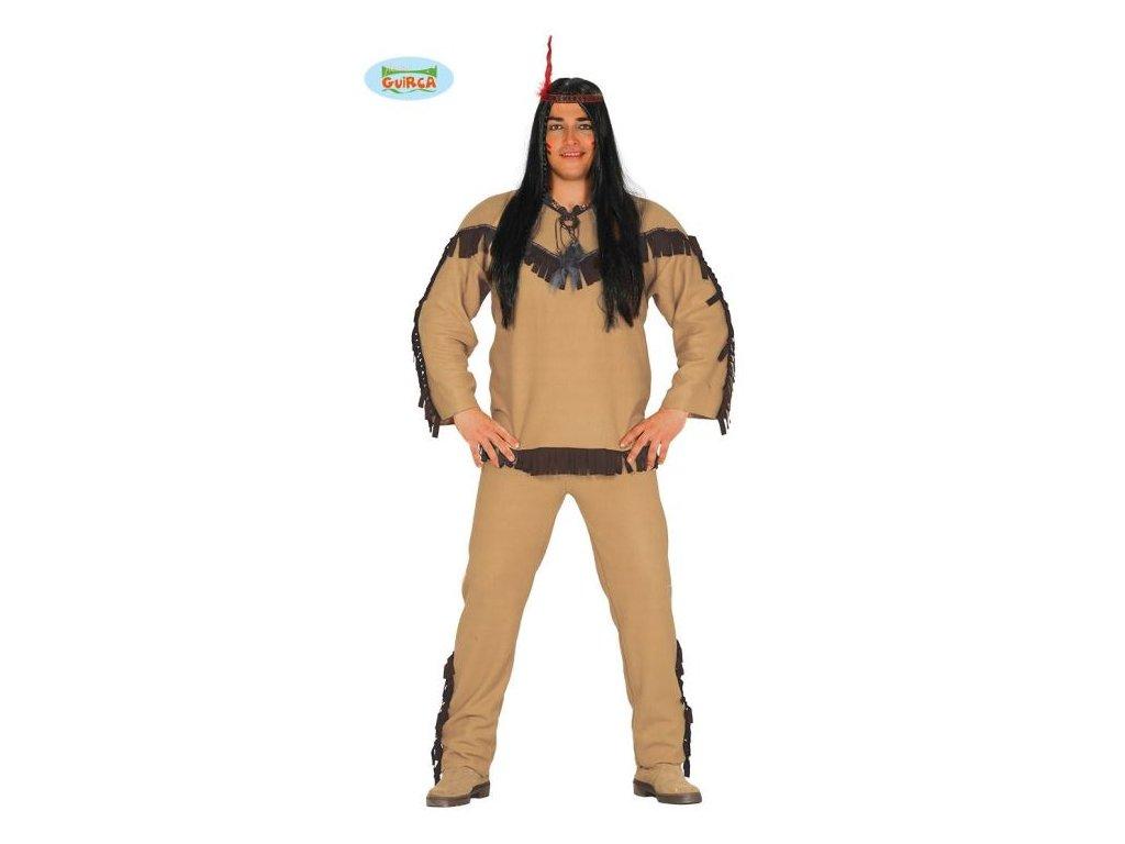 Kostým Indián - apač - vel. L (52-54)