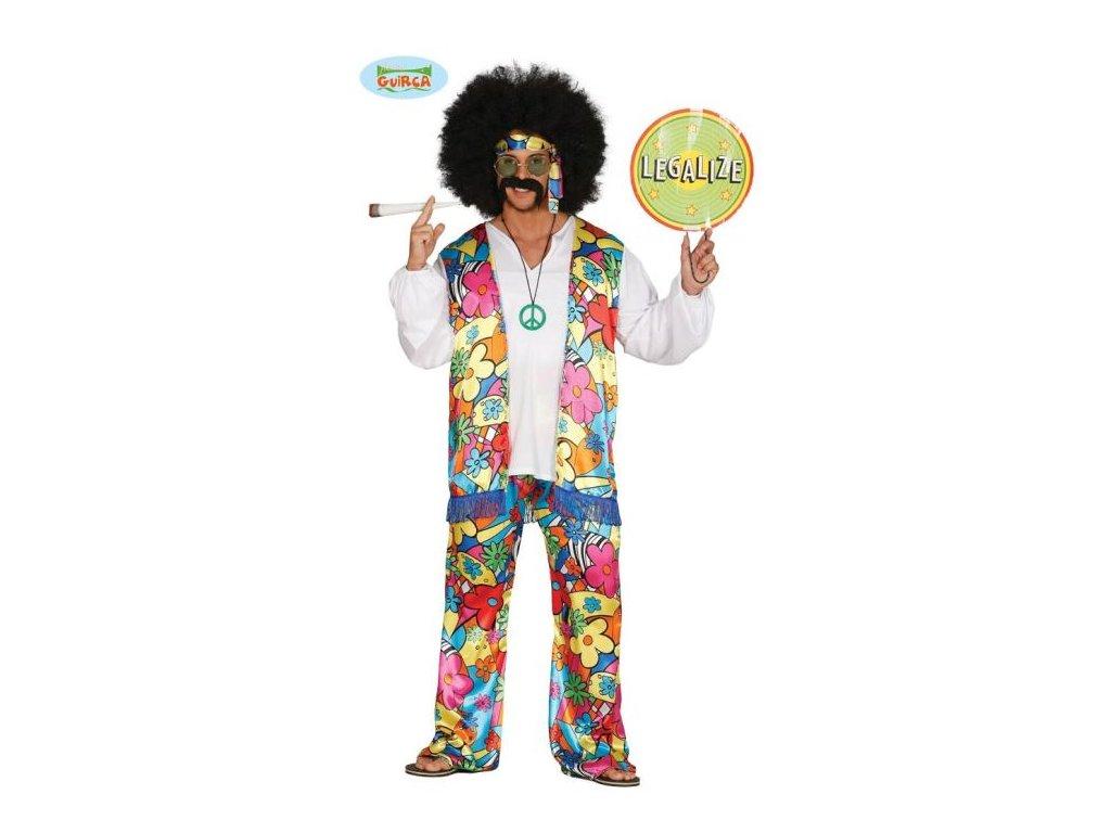 Kostým Hipisák, vel. L (52-54) - Hippies