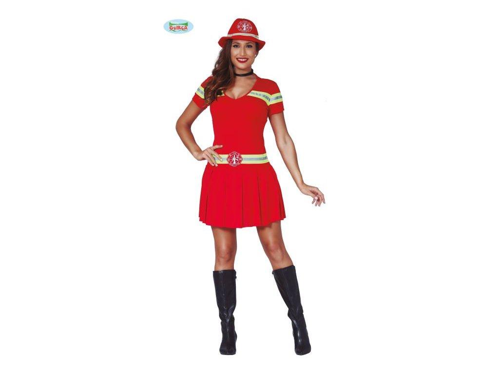 Dámský kostým sexy hasička - požárnice - vel. M (38-40)