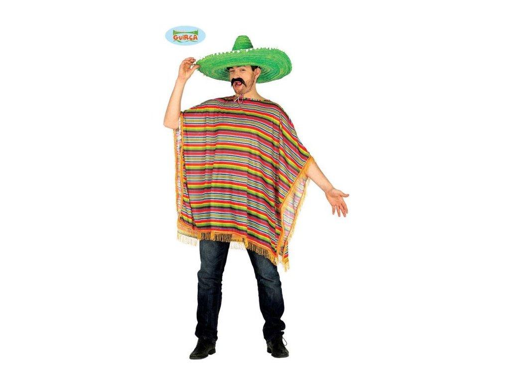 Kostým - pončo Mexičan - Mexiko - unisex