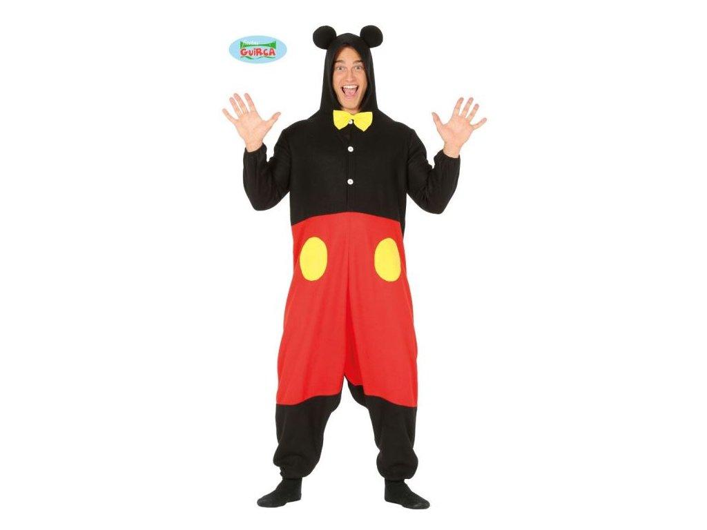 Dospělý kostým - MYŠ - myšák - vel. L (52-54)