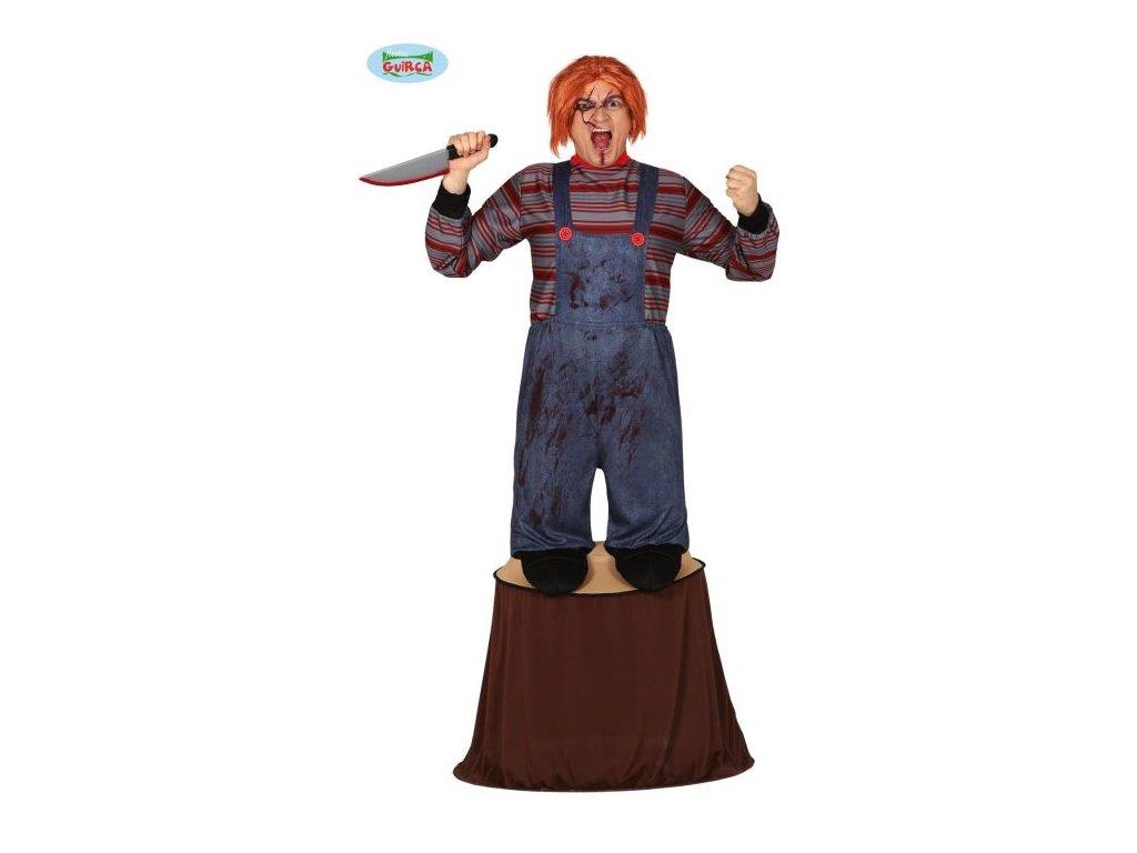 Kostým zabiják - Killer doll - panenka Chucky , vel. L 52-54 - Halloween