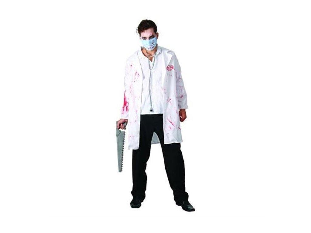 Kostým šílený doktor vel. 52 - Halloween