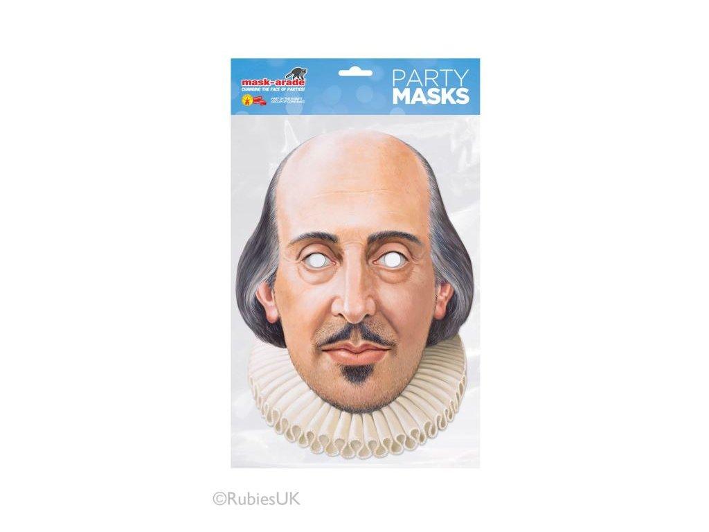 Maska celebrit - Shakespeare