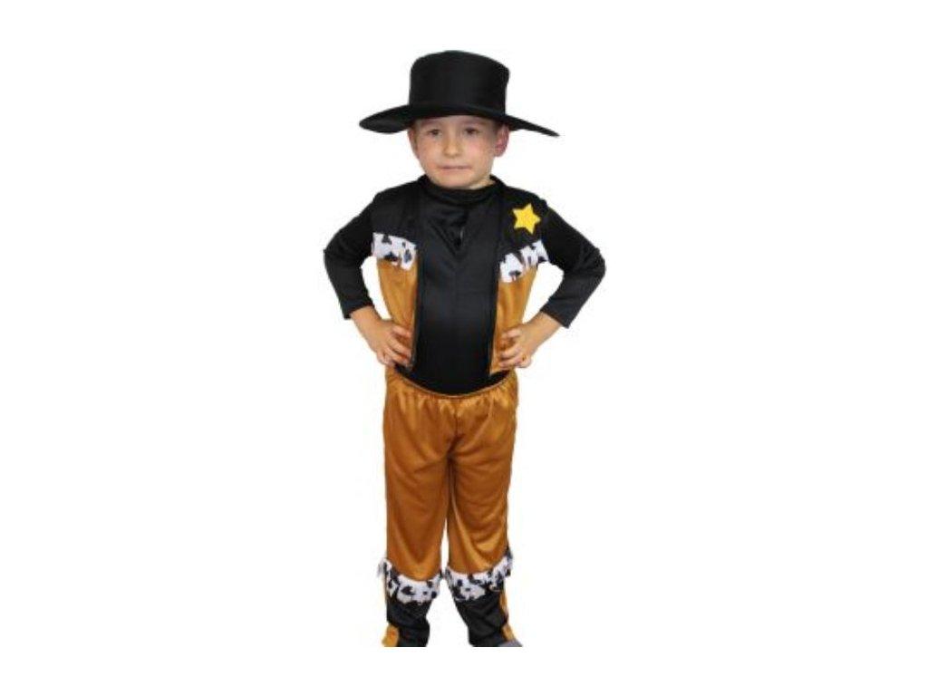 Kostým Kovboj vel. M - (140 cm)