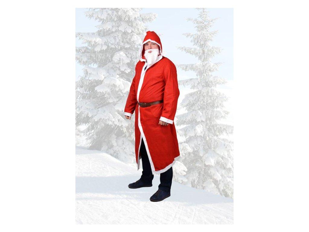 Plášť Santa Claus - Mikuláš - Vánoce