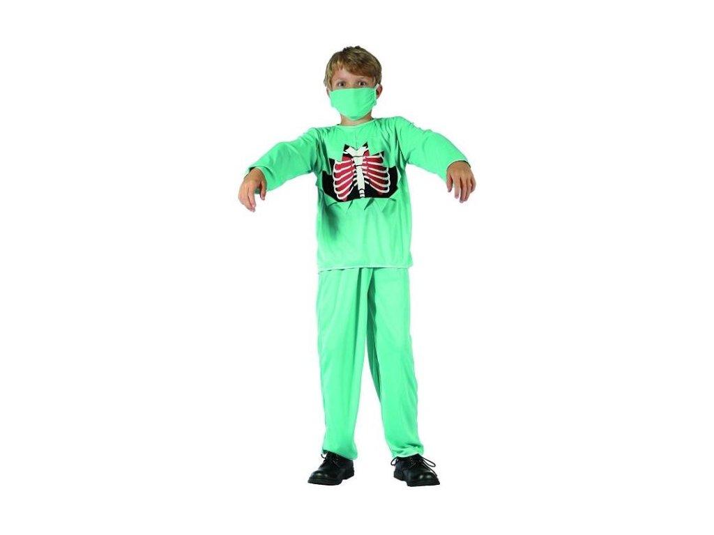 Dětský kostým Doktor Zombie vel.110-120 cm - Halloween