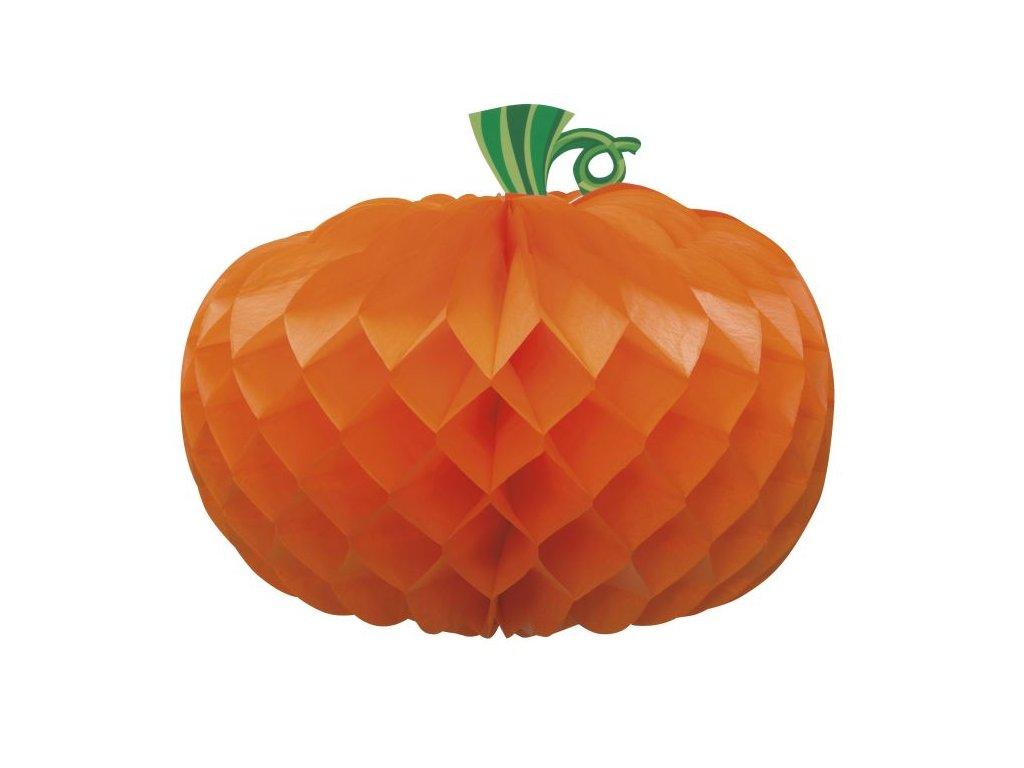 DEKORACE Dýně - pumpkin - HALLOWEEN - 27 cm