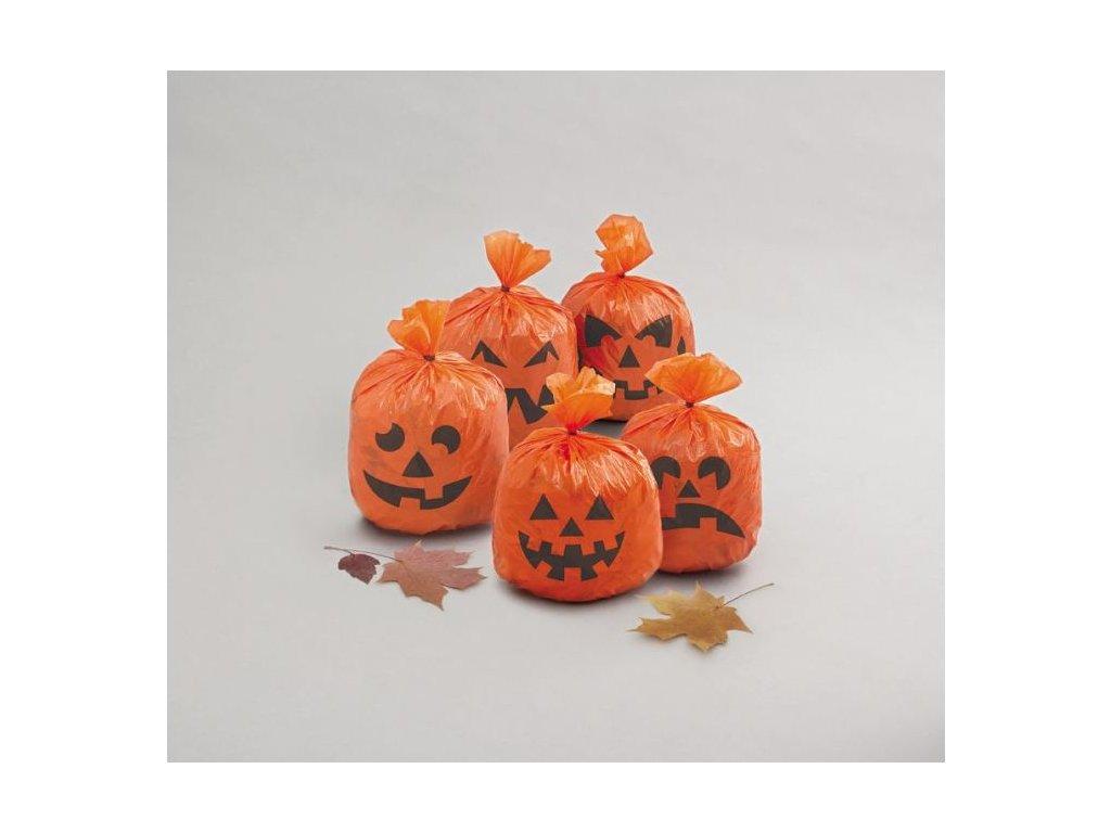 DEKORACE Dýňe - pumpkin - sáčky - 20 ks - HALLOWEEN