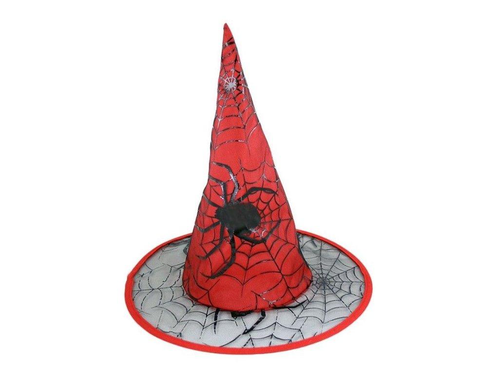 Klobouk čarodějnický pro dospělé - HALLOWEEN - 37 cm