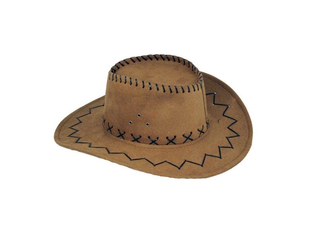 Klobouk šerif - kovboj - western - dospělý