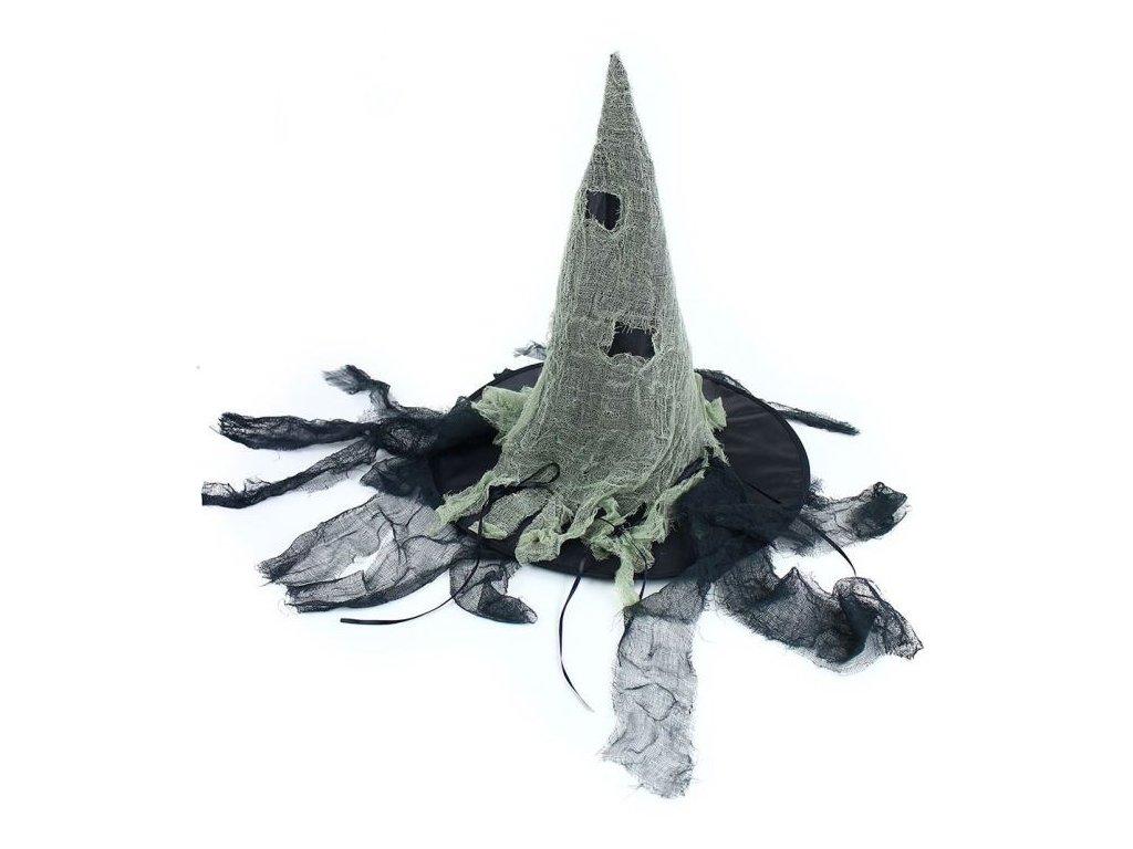 Klobouk čarodějnice - čaroděj -dospělý -Halloween