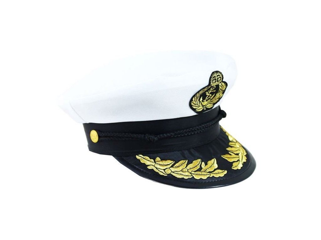 Čepice námořník kapitán dospělá