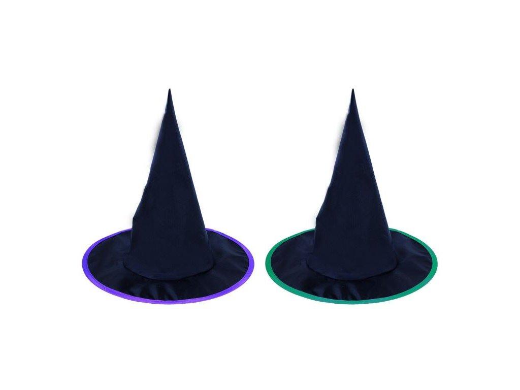 Klobouk čarodějnice - čaroděj - dětský 2 druhy