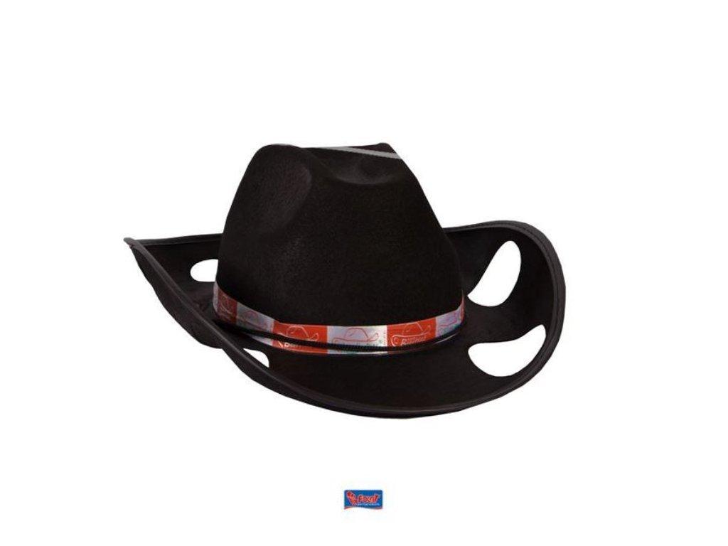 Kovbojský klobouk na pivo černý - Rozlučka se svobodou