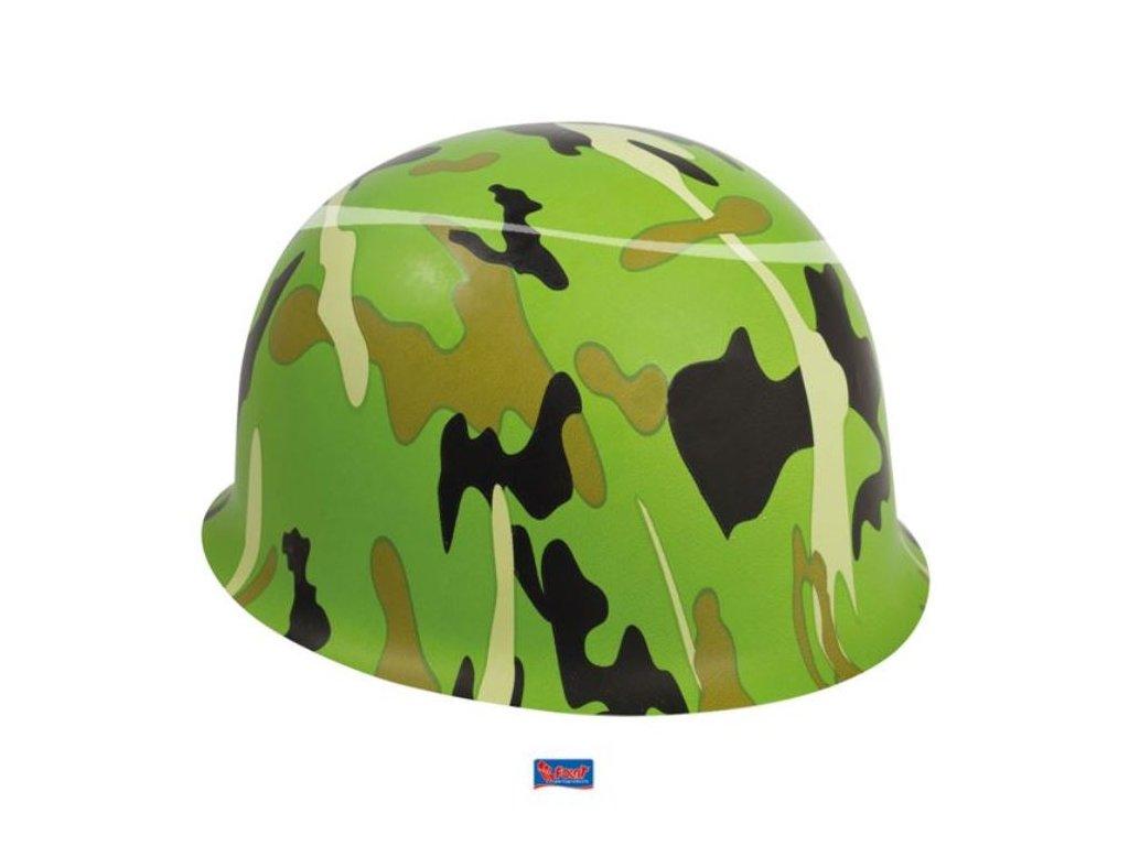 Dětská army přilba/helma - voják