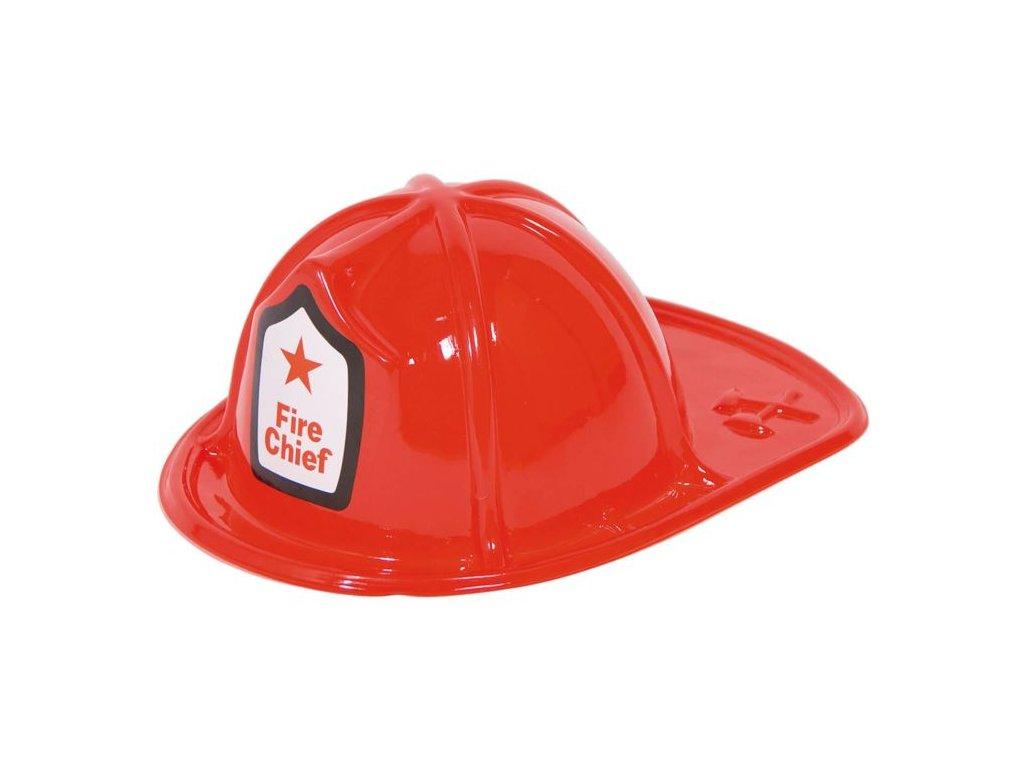 Přilba hasič / požárník plastová