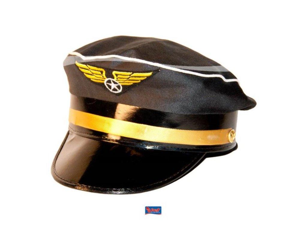 Čepice Pilot - letec - kapitán