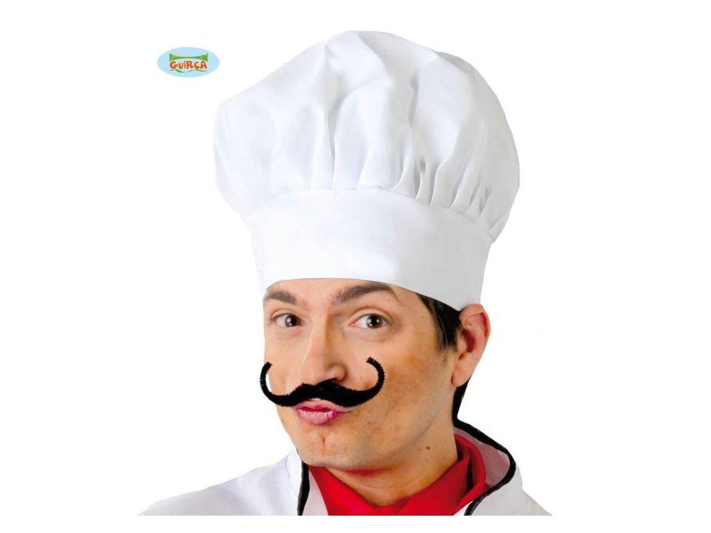 Čepice kuchař - kuchařka - unisex