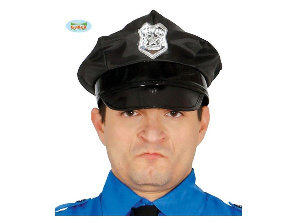 Čepice policie - policejní dospělá