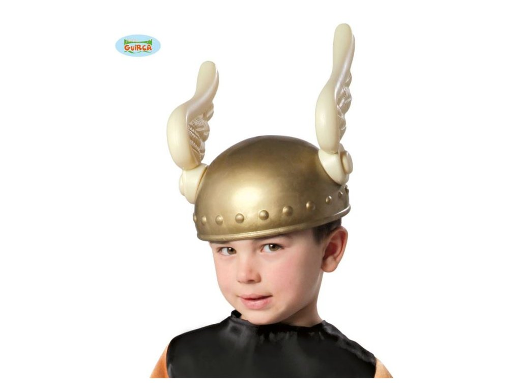 Dětská helma Gál - Asterix s křídly