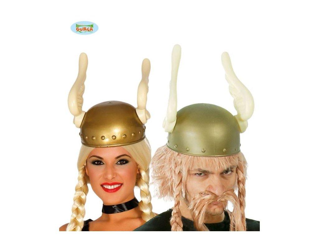 Helma - přilba Gál - Asterix s křídly