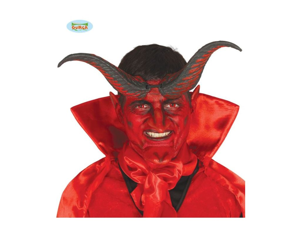 Rohy ďábel - čert 20 cm - Vánoce