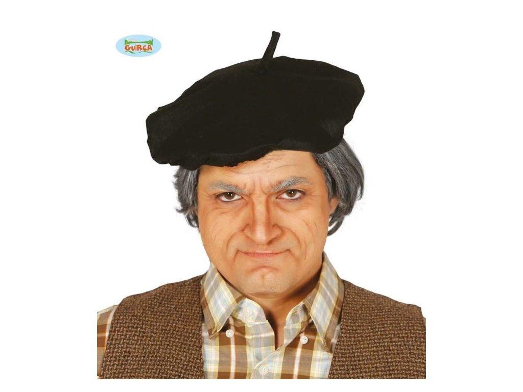Černý baret - rádiovka důchodce - malíř