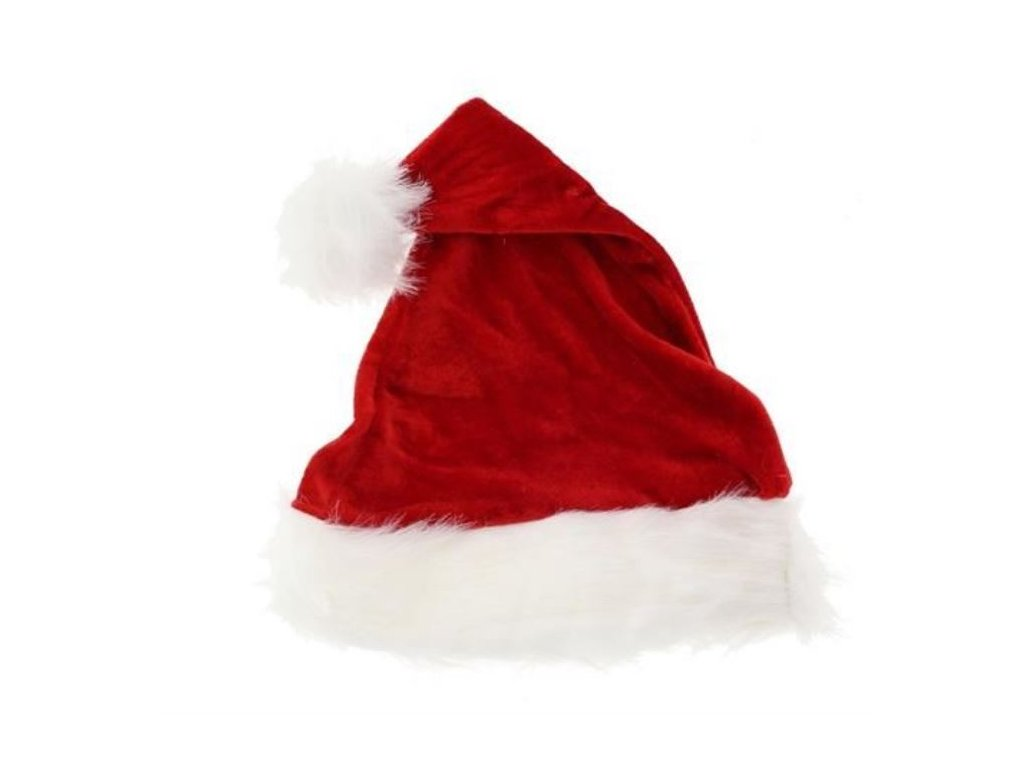 Čepice dětská Santa Claus - Vánoce 26x35 cm
