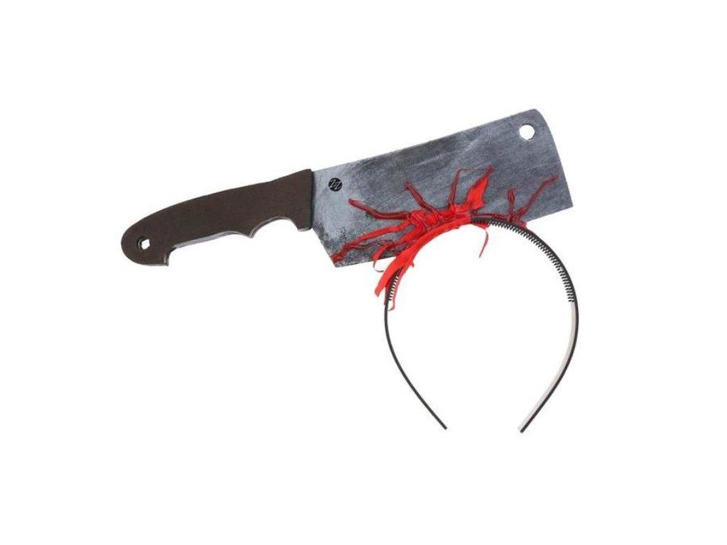 Čelenka - krvavý sekáček - Halloween