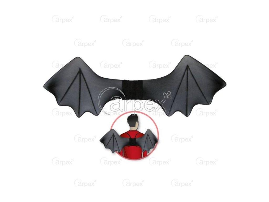 Křídla netopýr - Halloween - 70 cm