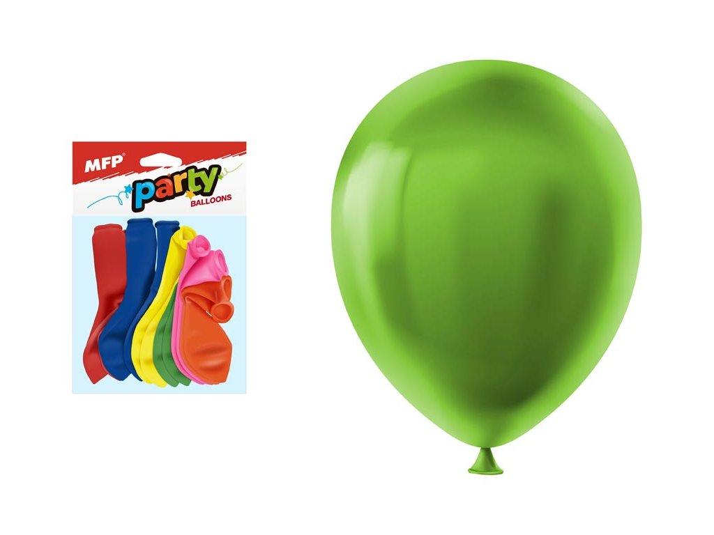 balónek nafukovací 12ks sáček neon 23cm mix 8000104