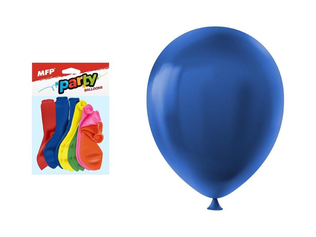 balónek nafukovací 12ks sáček standard 30cm mix 8000121