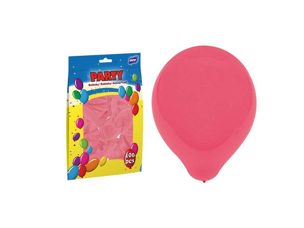 balónek nafukovací standard 30cm růžový 8000120
