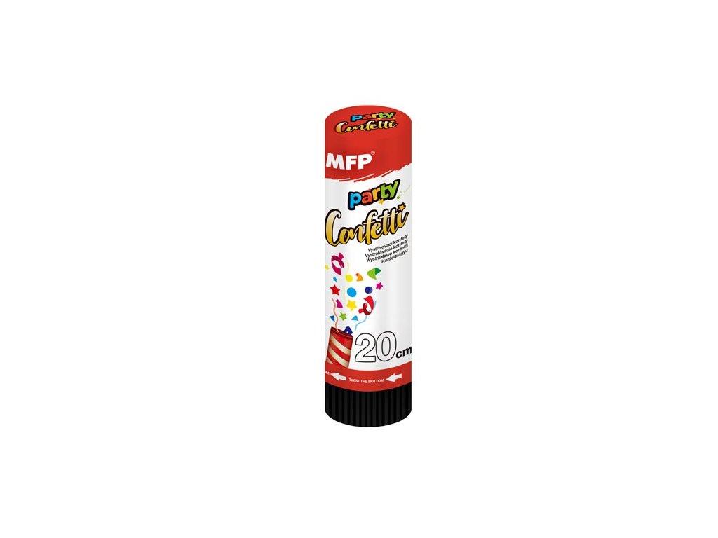 konfety vystřelovací 20cm metal - pružina 1042010