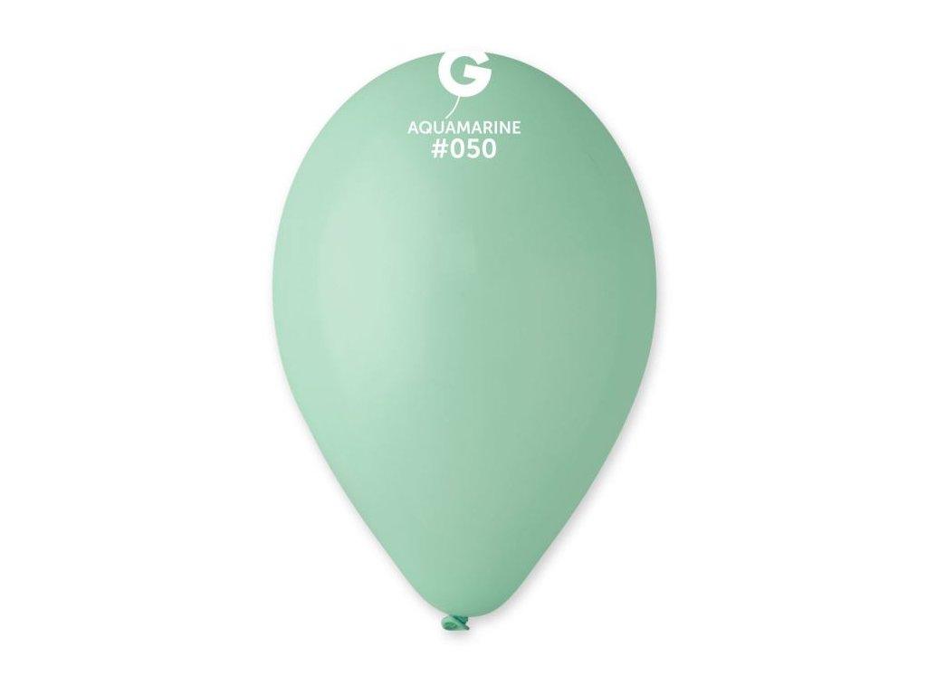 Balonky 100 ks AZUROVÉ 26 cm pastelové